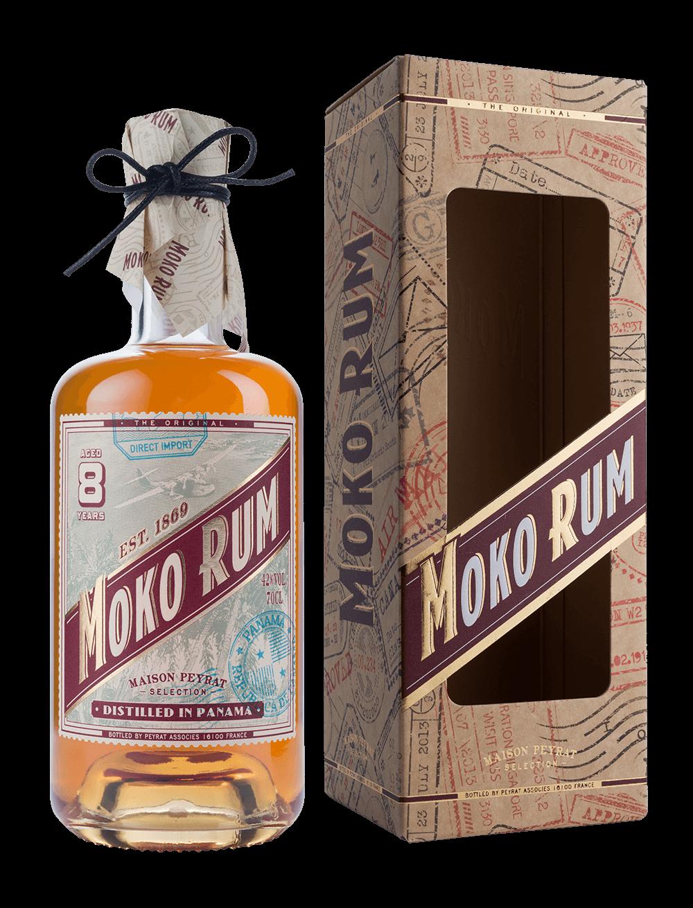 Moko Rum Distilled in Panama 8 ans d'âge