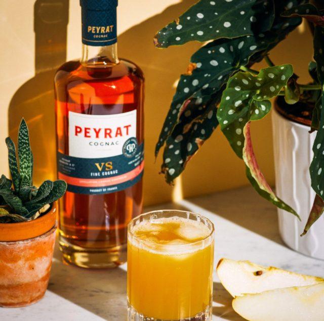 Pear'd Perfection avec Peyrat Cognac VS