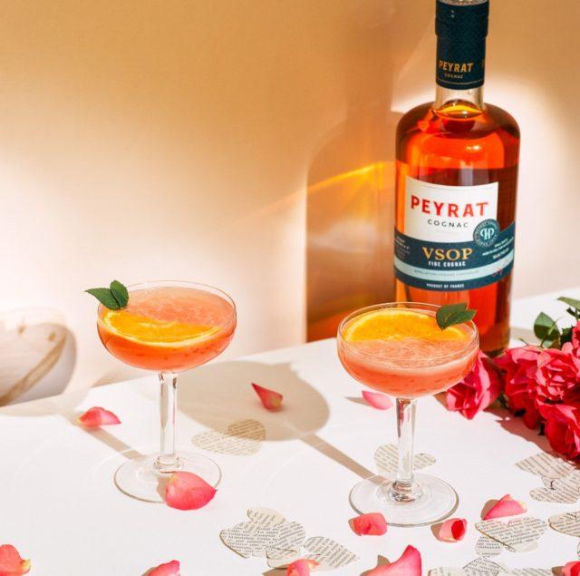 La Vie en Rose avec Peyrat Cognac VSOP