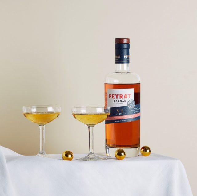 Le French 75 avec Peyrat Cognac VS